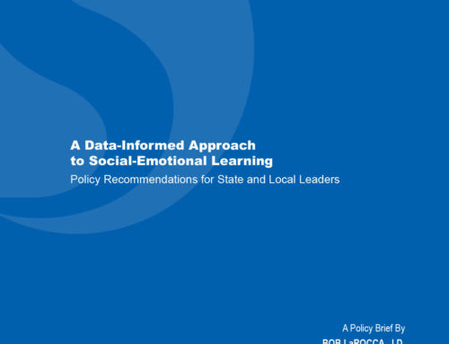 A Data-Informed Approach to Social-Emotional Learning: Policy Recommendations for State and Local Leaders