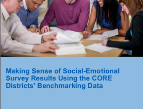 Making Sense of Social-Emotional Survey Results Using the CORE Districts' Benchmarking Data